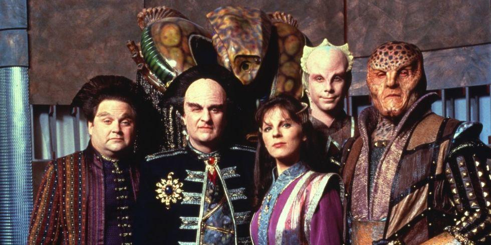 The cast of Babylon 5