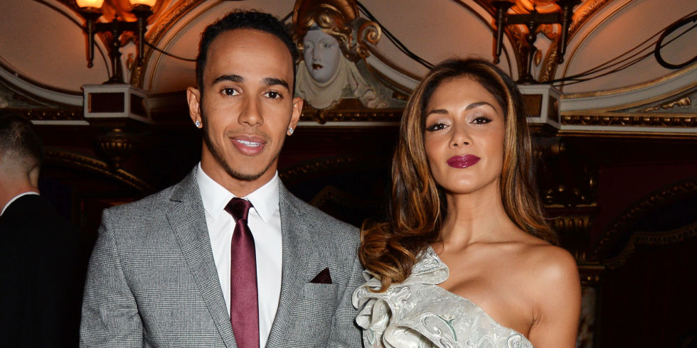 Did nicole scherzinger accuse lewis hamilton of fking around in lewis hamilton and nicole scherzinger at the british fashion awards 2014 m4hsunfo