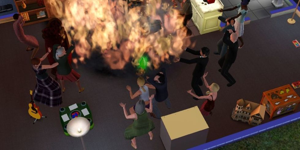 Sims 2 секс душ