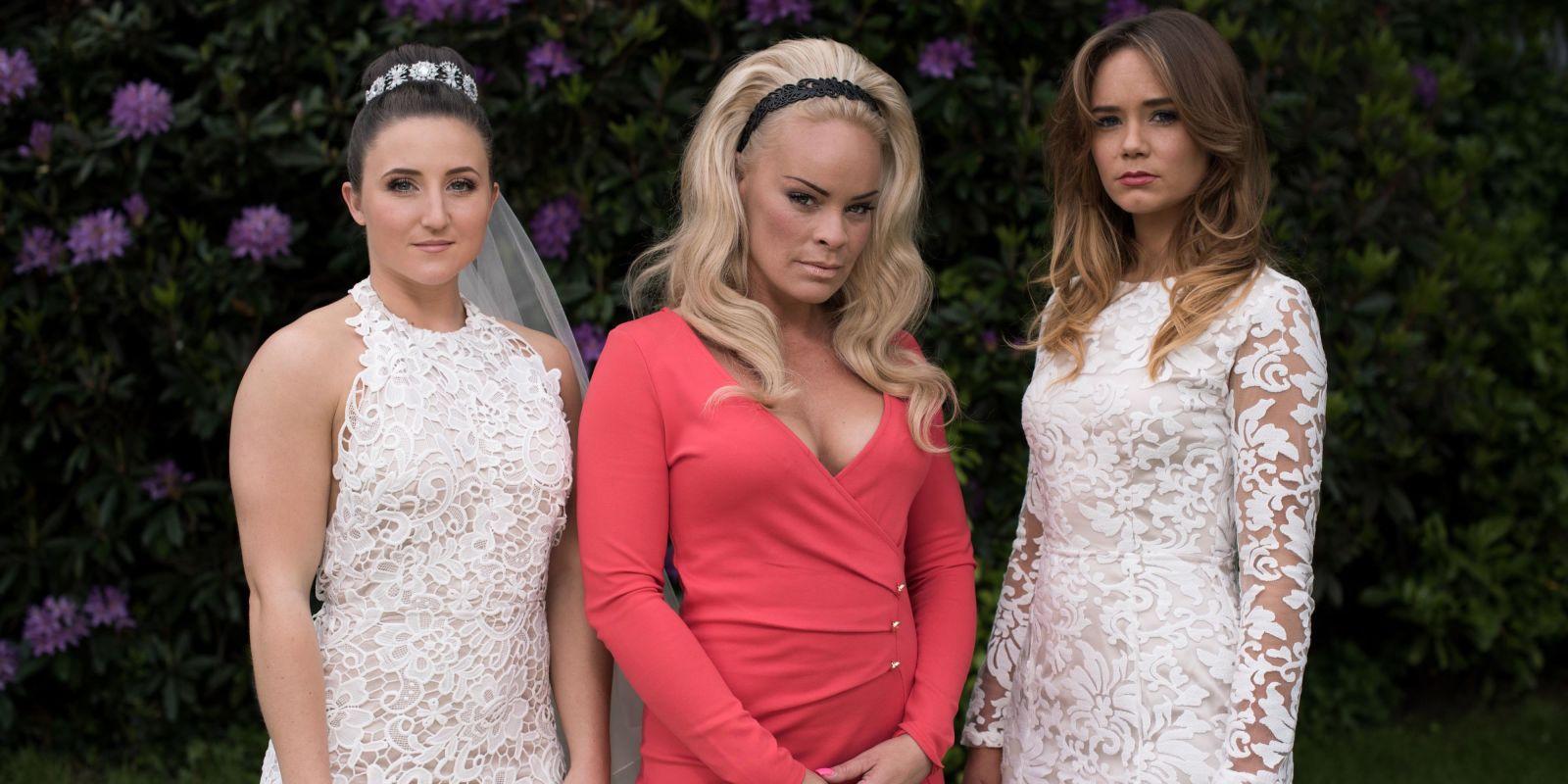 Caramels wedding dress hollyoaks episode