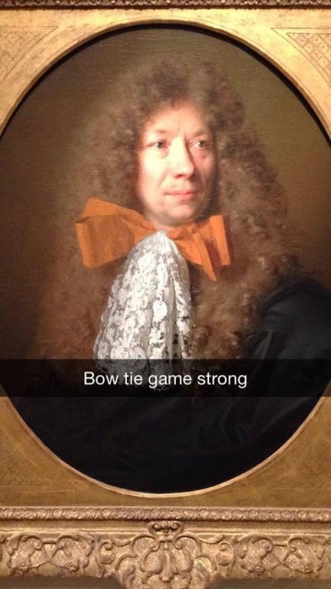 Hilarious Museum Snapchats That Make Art History Fun - 27 creative snapchats will ever see