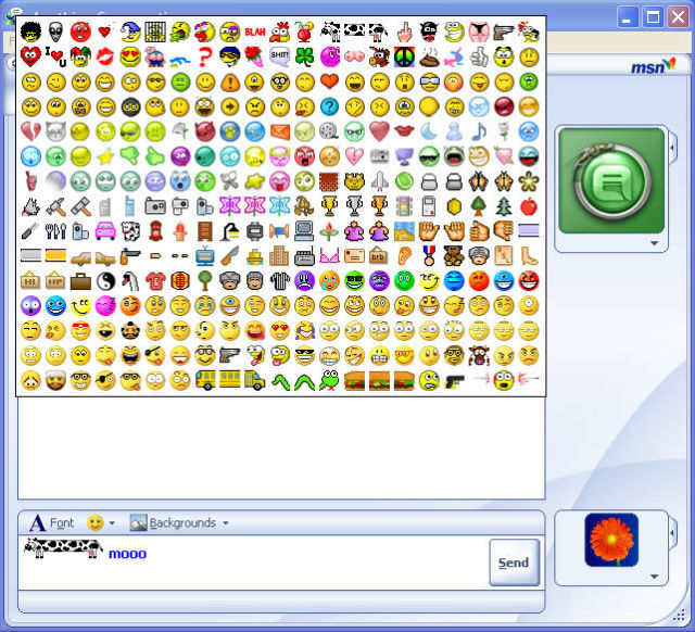 Animated emotion msn adult