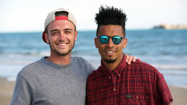 Jake and Jordan on Coach Trip  Road To Ibiza