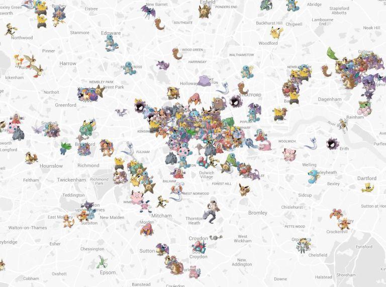 london pokemon map