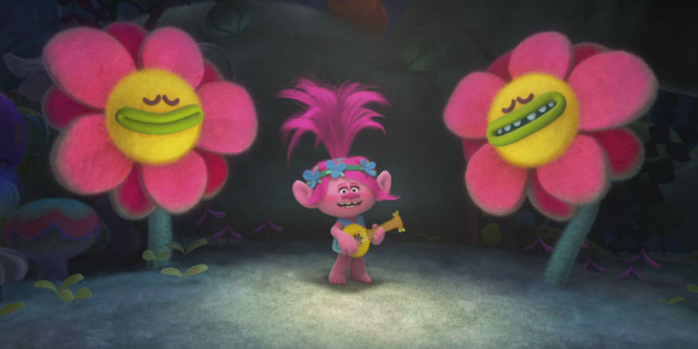 Anna Kendrick Singing Sound Of Silence In Trolls Is Trippiest