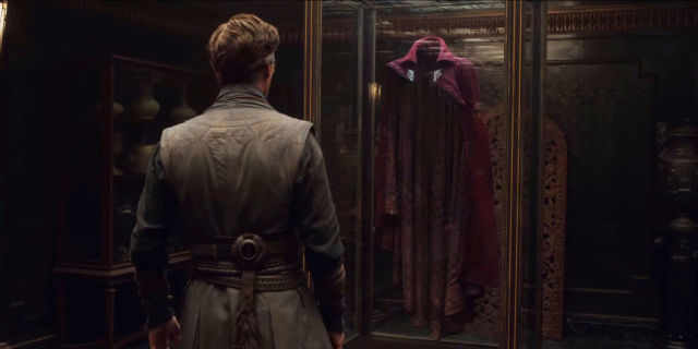 Image result for doctor strange movie cloak of levitation
