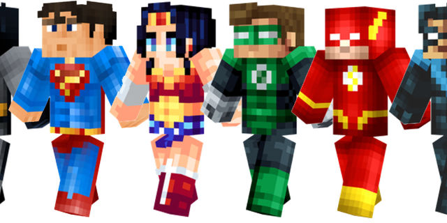Best Themed Minecraft Skins You Can Download Right Now - Skins para minecraft pe de batman