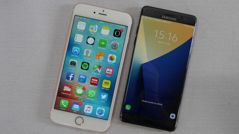 iPhone 6 Plus vs Samsung Galaxy Note 4: Screen