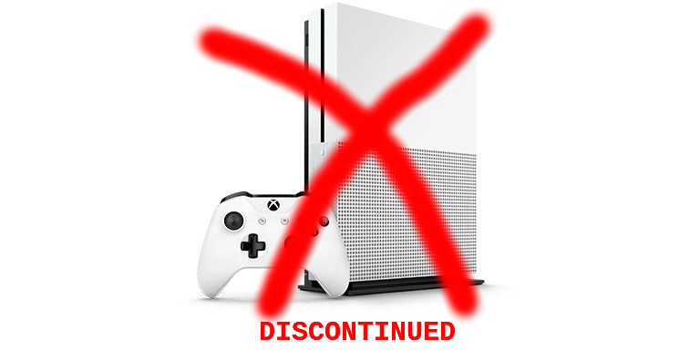 Bad News Alert The Xbox One S Is Gone Forever