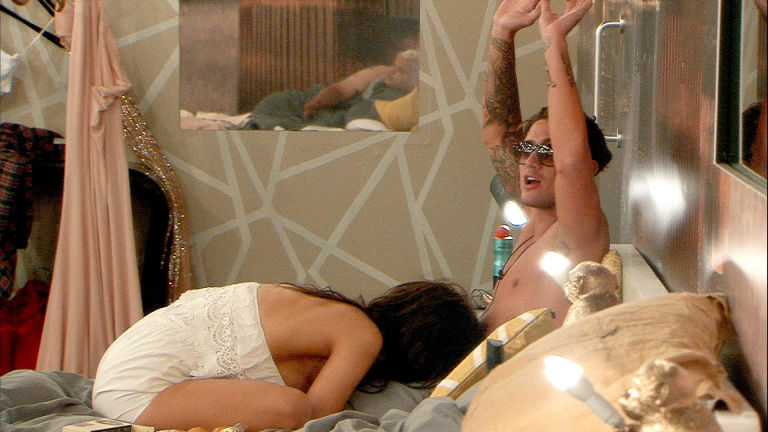 Celebrity Big Brother: Chloe and Bear