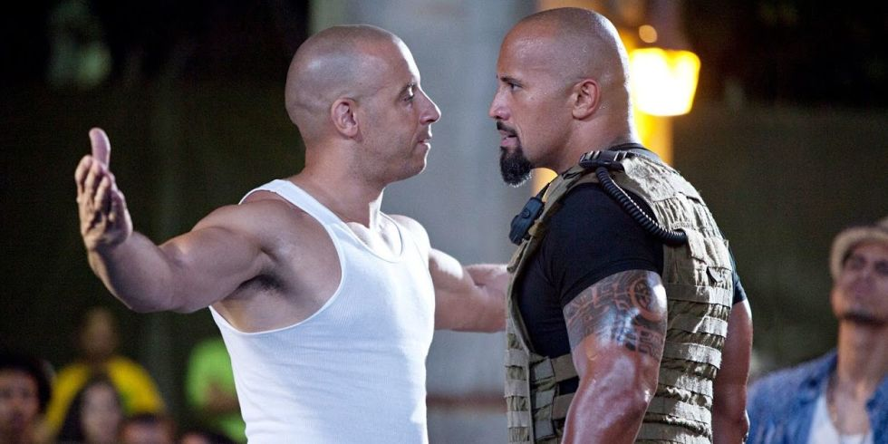 Fast and furious feuds explained a timeline of dwayne johnson vin vin diesel and dwayne johnson in fast and furious 5 m4hsunfo
