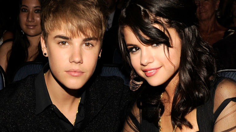 Los Angeles Ca July  Musician Justin Bieber And Actress Selena Gomez Attend