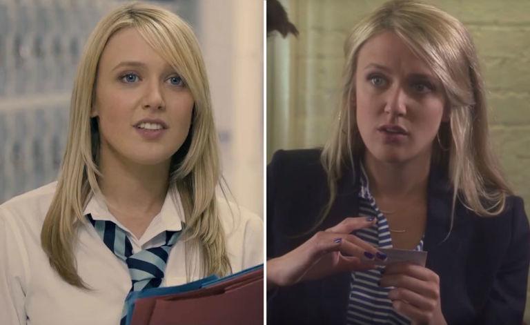 Emily Head, Inbetweeners, then and now