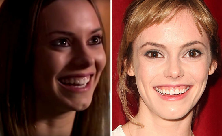 Hannah Tointon, then and now