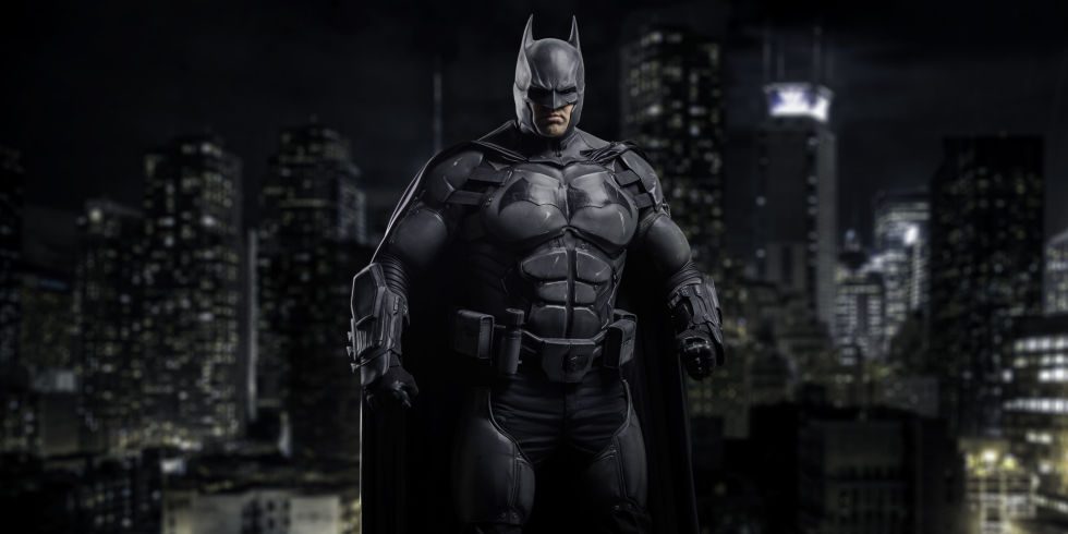 someone made a real batman suit with 23 working gadgets