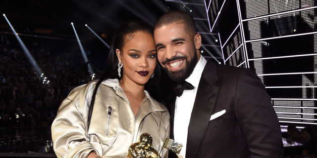 Image result for drake and rihanna at vma