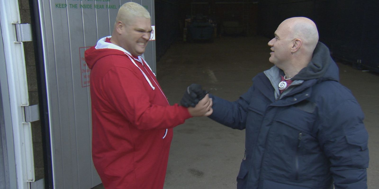 Heavy D And Sean Kelly On Storage Hunters Uk