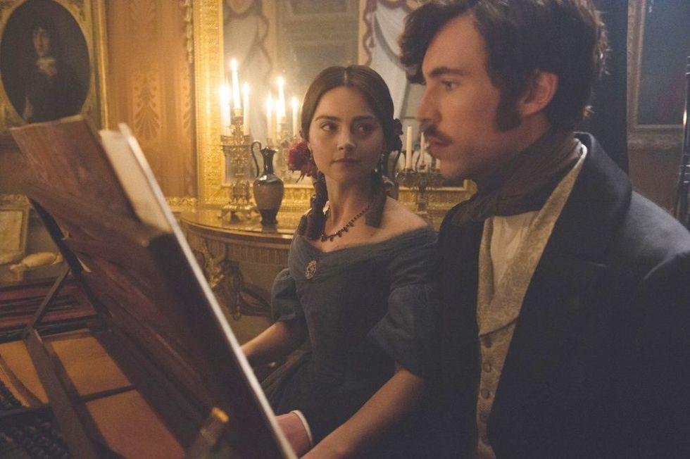 The Queen and Albert in ITV's Victoria s01e04