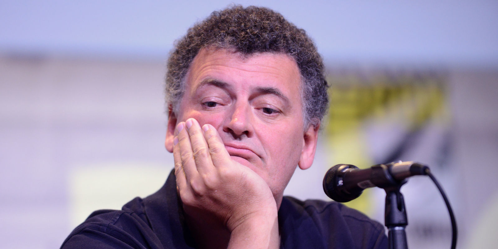 steven moffat left doctor who