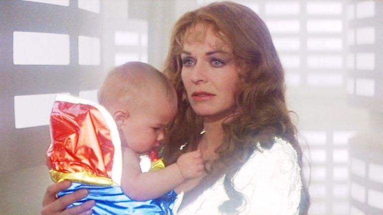 Baby Superman and Lara 1978