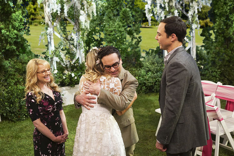 Bang Theory Wedding