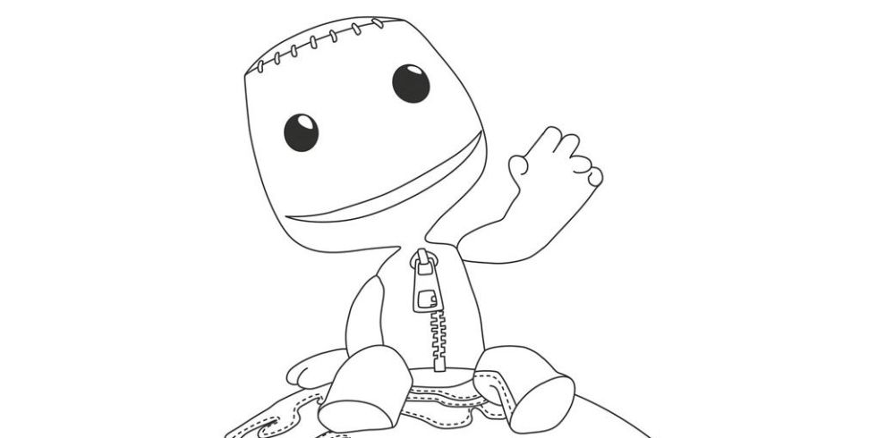 Blow us down - there\'s a PlayStation colouring book