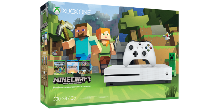 This Minecraft Xbox One S bundle is perfect for kids this Christmas