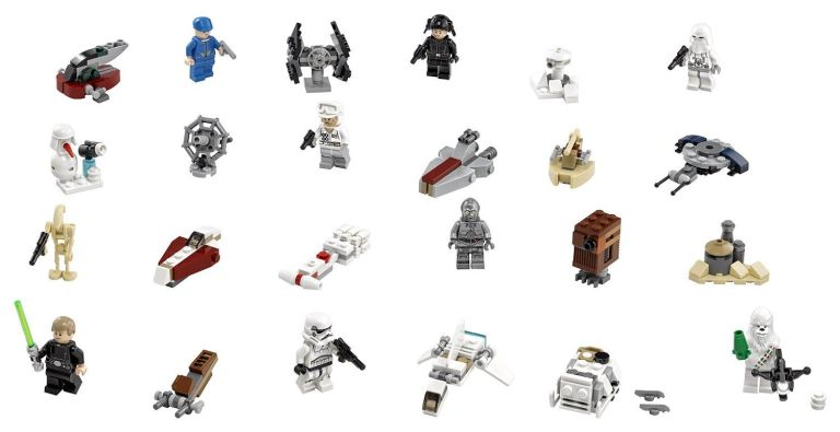 This amazing LEGO Star Wars advent calendar is the only thing you ...