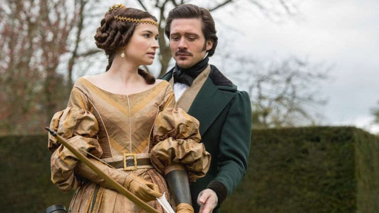 Duchess Harriet Sutherland and Prince Ernest in ITV's Victoria