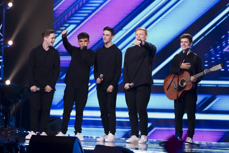 the x factor 2016 which groups made it to the six chair challenge