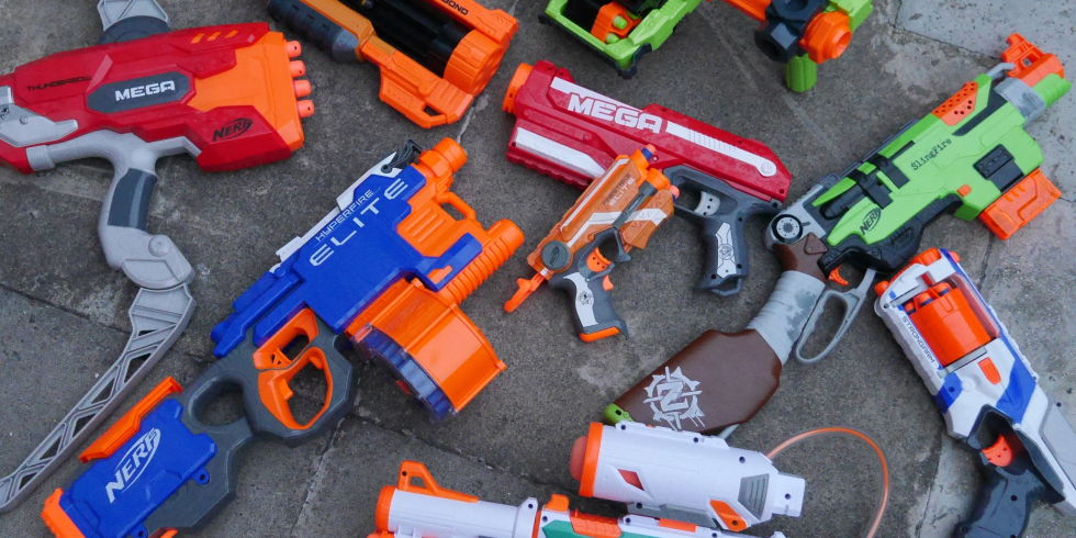 coolest nerf guns