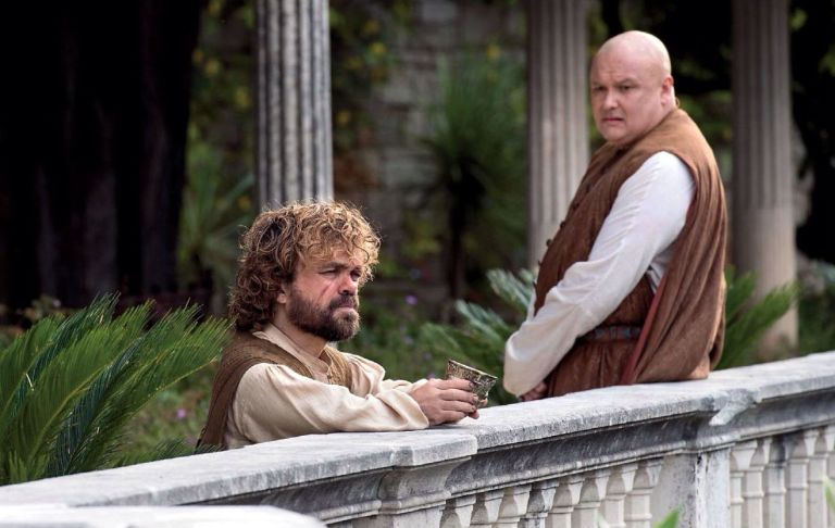 Tyrion and Varys in Game of Thrones
