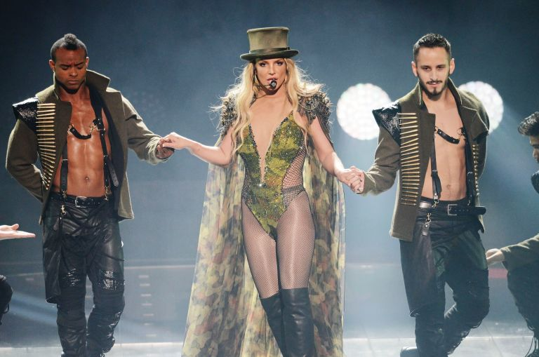 Britney Spears Performs At The Apple Music Festival