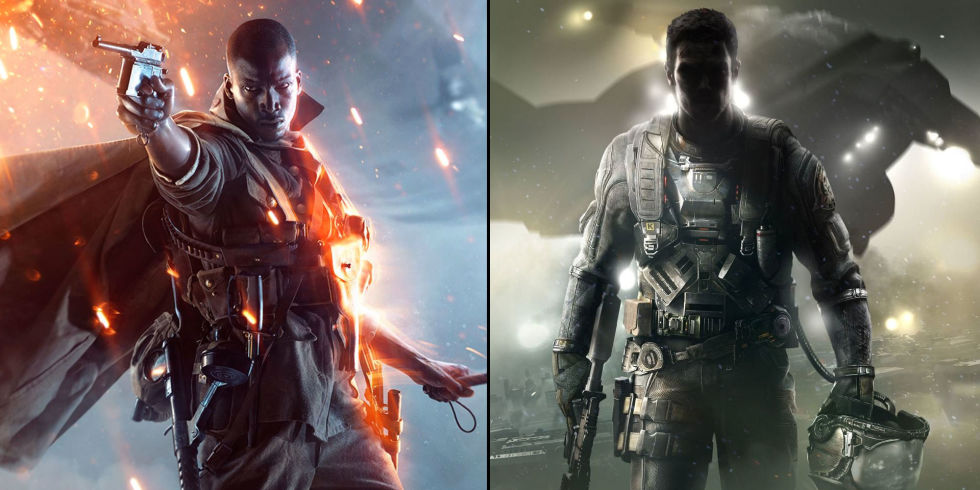 Image result for battlefield 1 vs infinite warfare