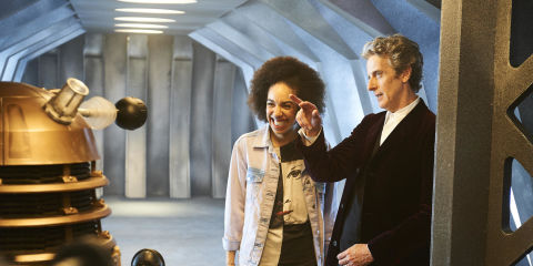 Doctor Who: Jenna Coleman has absolutely no idea what to expect from new companion Pearl Mackie