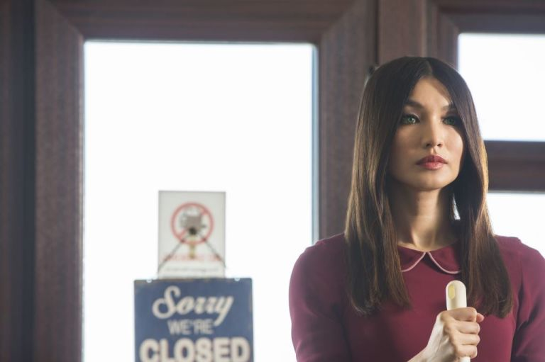 Gemma Chan as Anita / Mia in Humans series 2