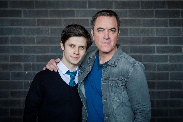 Cel Spellman and James Nesbitt in ITV's Cold Feet