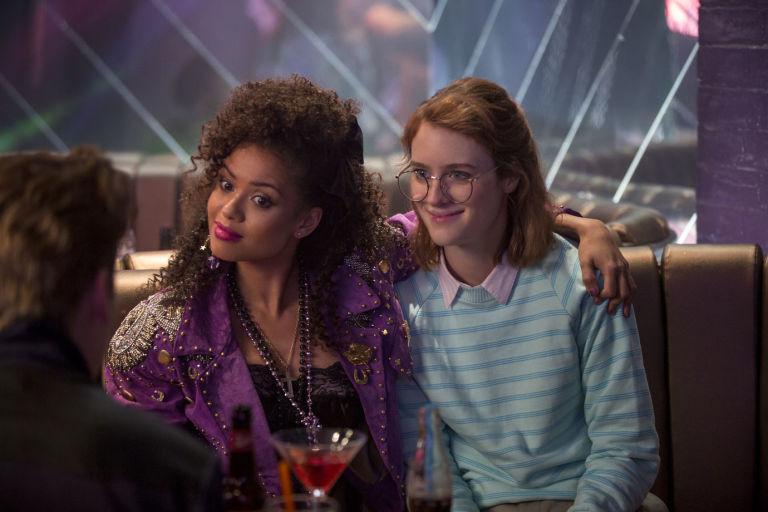 Gugu Mbathaw-Raw and Mackenzie Davis in Black Mirror, 'San Junipero'