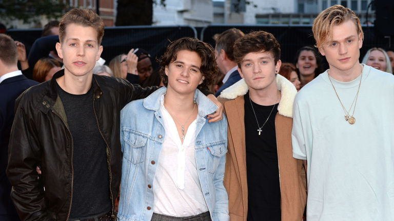 The vamps announce an up close and personal tour london england september 26 the vamps attend the european premiere of deepwater m4hsunfo