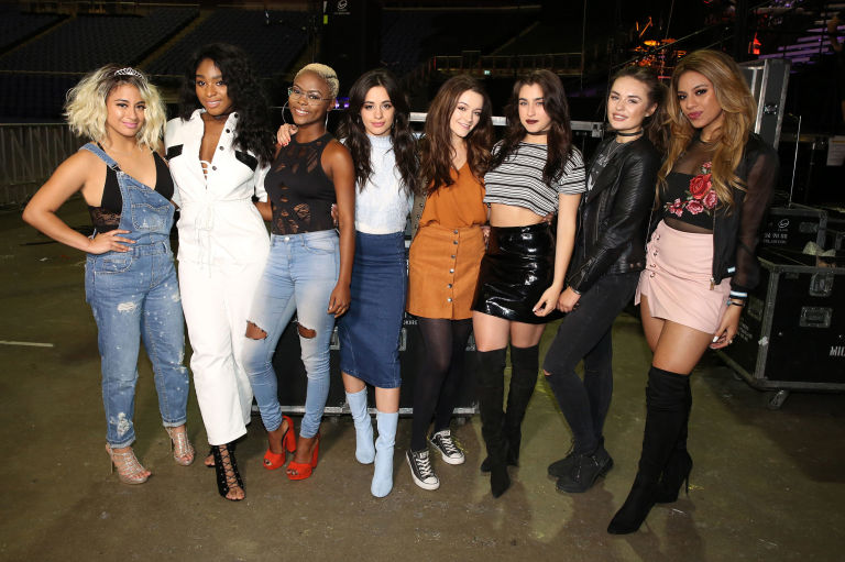 The x factor 2016 fifth harmony teach the girls how to handle simon fifth harmony meet x factor girls emily middlemas gifty louise and sam lavery m4hsunfo