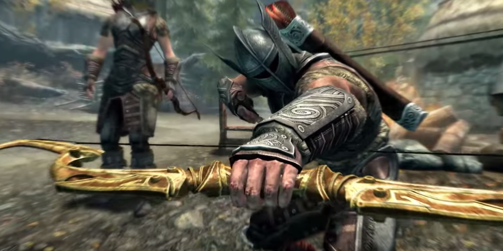 New Action Games For Ps3 : New trailer compares ps and skyrim