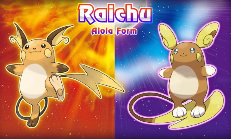 Guess which Pokémon Sun/Moon Alola form was the hardest to design