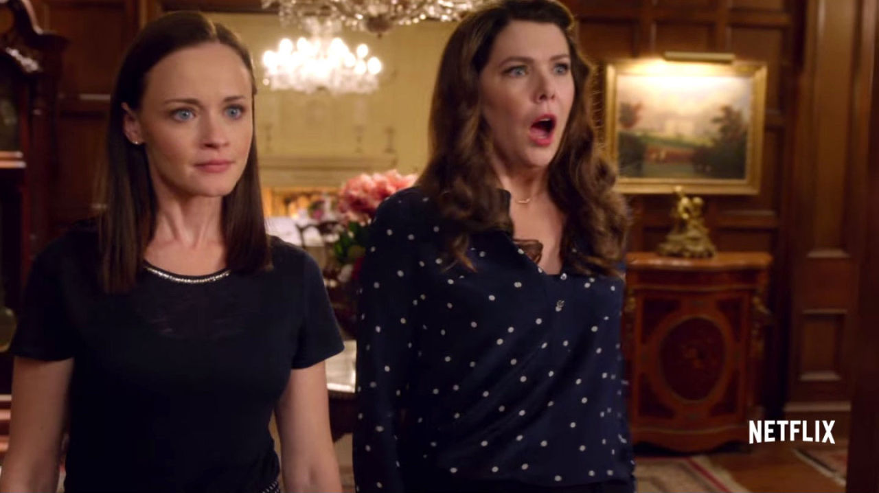 gilmore girls reunion on netflix cast episodes return date trailer everything you need to know. Black Bedroom Furniture Sets. Home Design Ideas