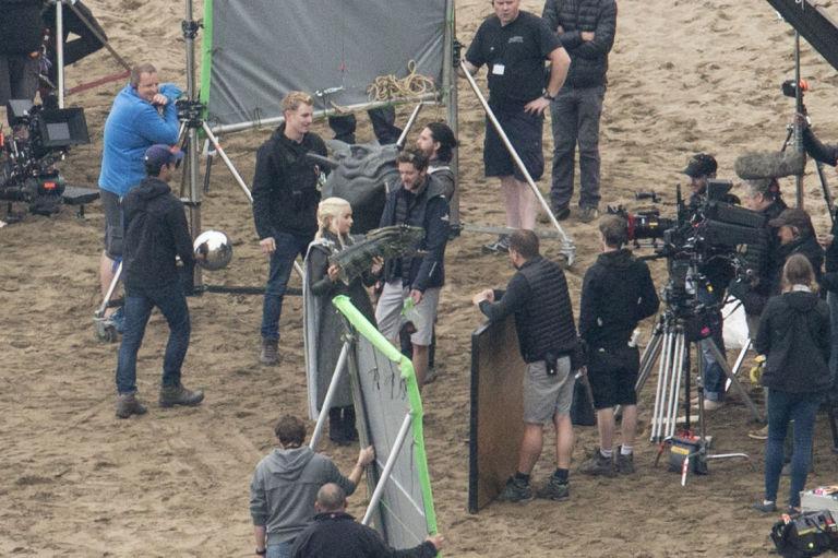 Game of Thrones, set filming, Emilia Clarke