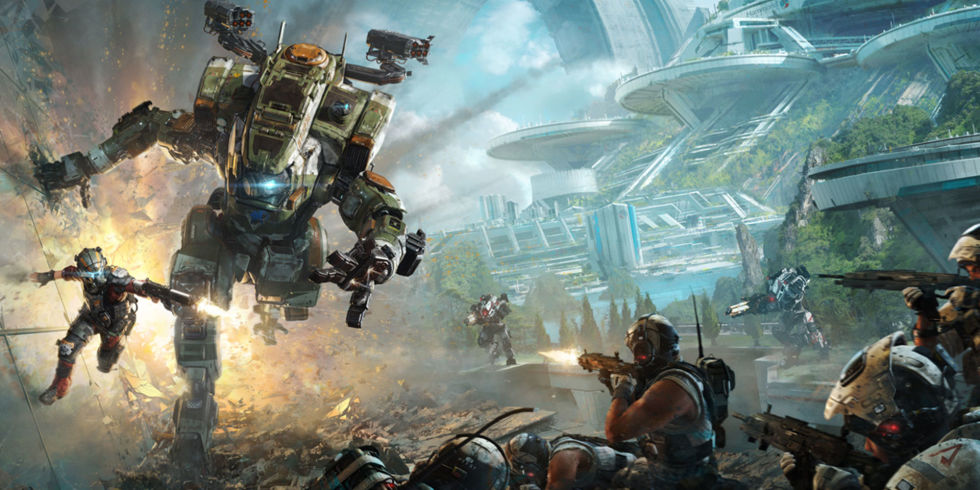 Titanfall 2 Respawn Entertainment EA Games