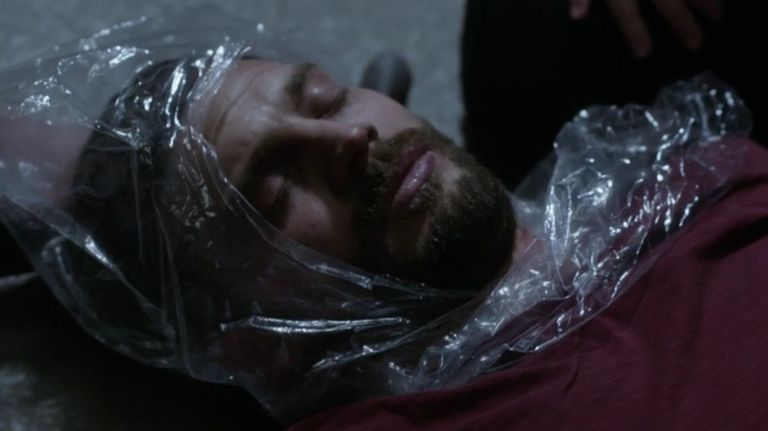 Paul Spector (Jamie Dornan) dies in The Fall s03e06
