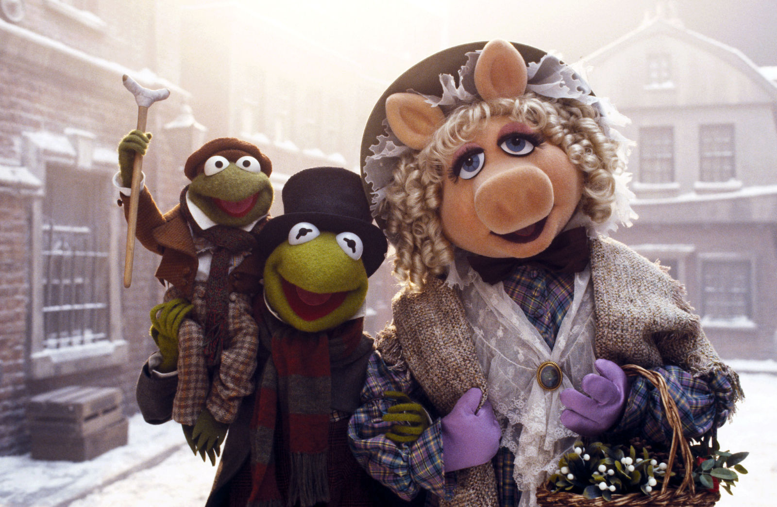 There's a deleted scene from Muppet Christmas Carol that you've ...