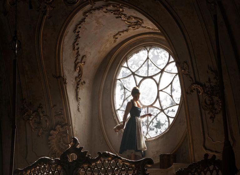 Emma Watson como Belle, a beleza ea besta