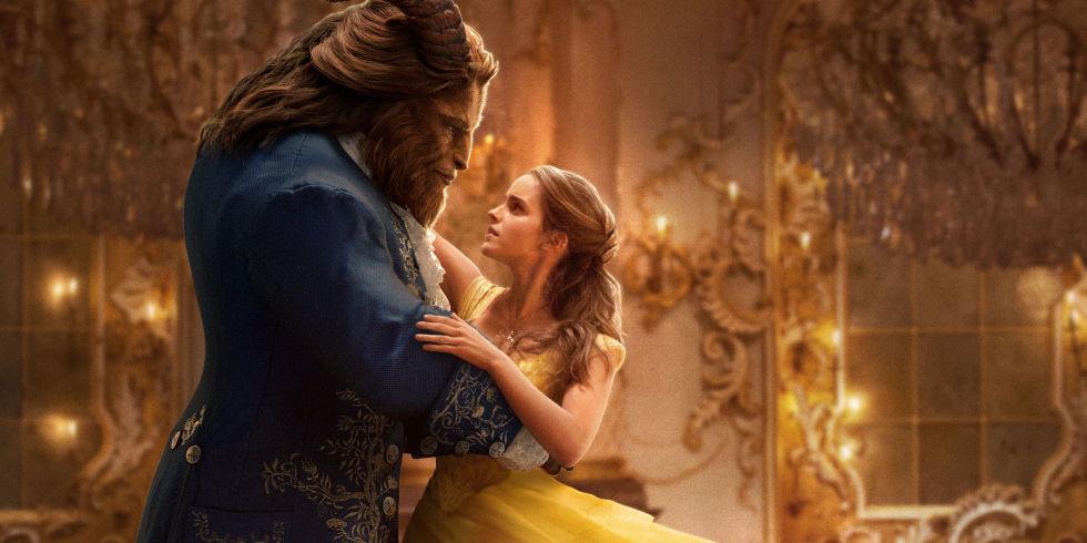 Dan Stevens As Beast Emma Watson Belle Beauty And The