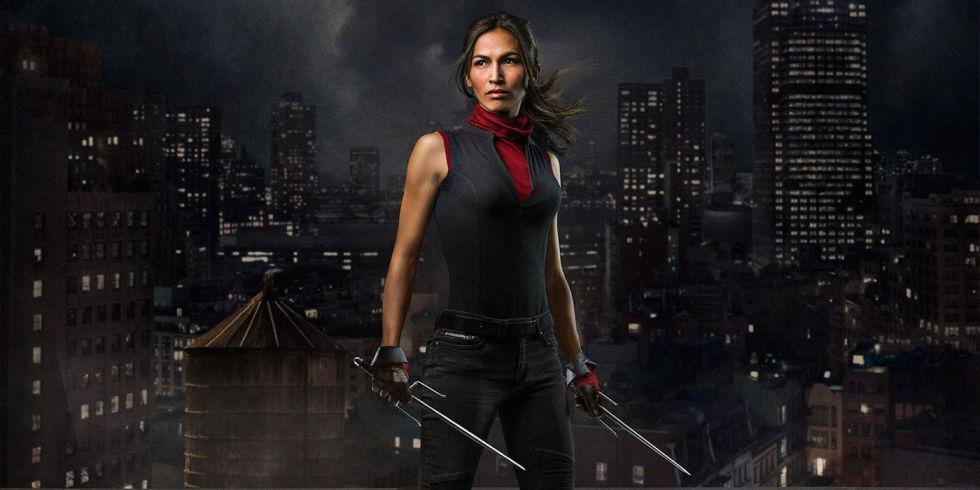 Marvels Defenders Poster Hints At Major Elektra Role